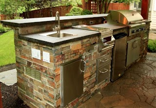 Outdoor Summer Kitchen Beautiful Ideas for Freshomecom