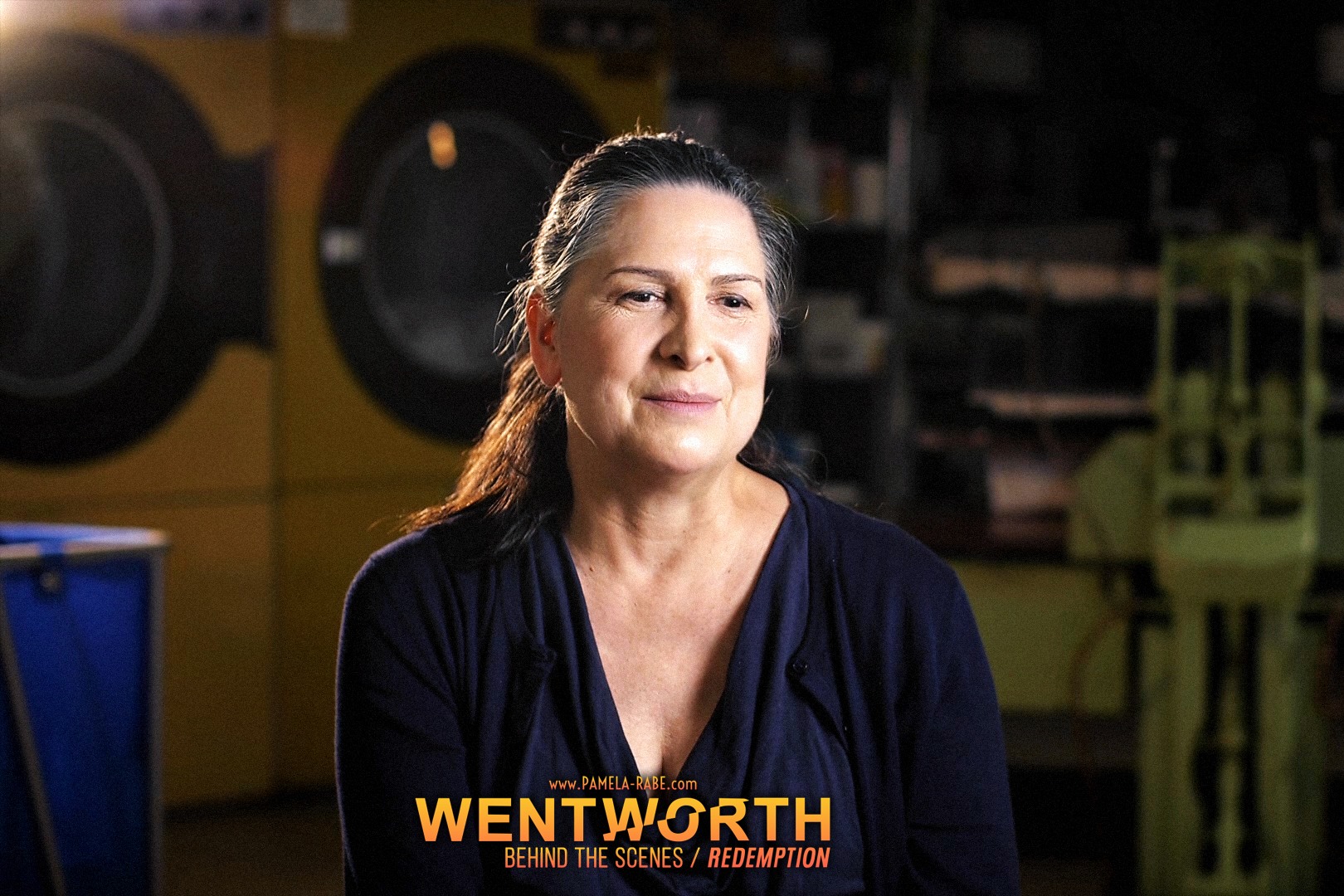 Pamela Rabe | Wentworth Season 8 | Behind the Scenes