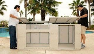 Outdoor Kitchen Modular Frame Kits Modules Charming Home