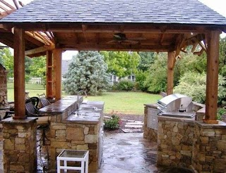 Outdoor Kitchen Gazebo Have You Ever Cooked Out In