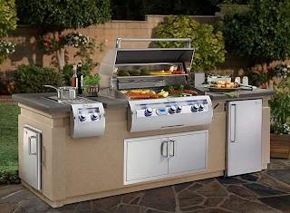 Fire Magic Outdoor Kitchen Echelon Island Fines Gas