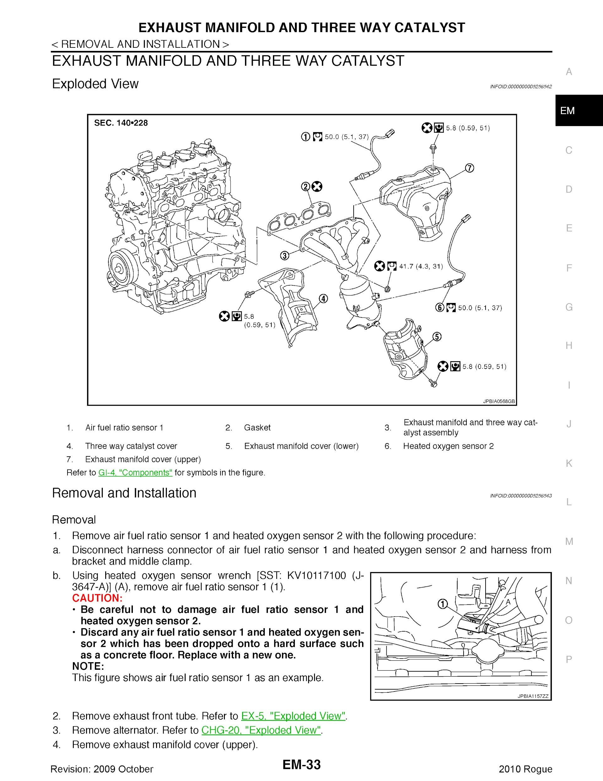 Download 2010 Nissan Rogue Repair Manual.