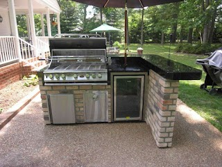 Outdoor Kitchen Set How to up An
