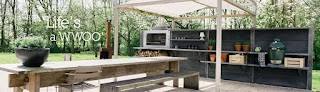Wwoo Outdoor Kitchen Create Your Own Spa Or Boundary