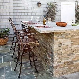 Stone Outdoor Kitchens Read This Before You Put in an Kitchen Living