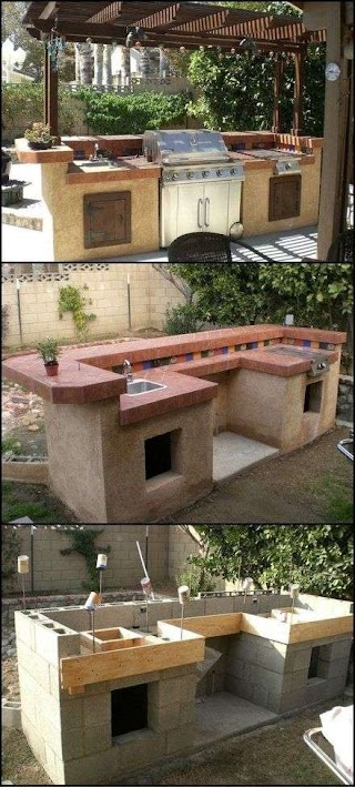 How to Build a Outdoor Kitchen Designs N This Old House