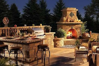 Dallas Outdoor Kitchens Living Com