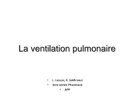 Ventilation pulmonaire PHARMACIE physio respiratoire.pdf