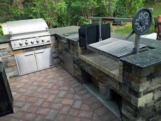Outdoor Kitchen Grill Insert Ideas for an Gaucho S