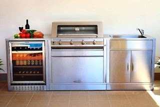 Outdoor Bbq Kitchens Sydney Cabinets