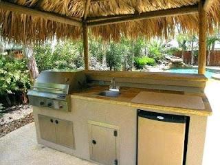 Outdoor Kitchens on a Budget Ku in Bckyrd Kitchen Riz
