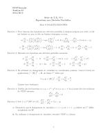 Td Equations aux Dérivées Partielles Analyse 4 Epst Annaba.pdf