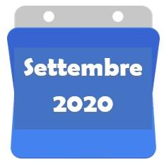 Settembre 2020 bis!