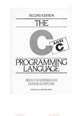 EN - The C programming language.pdf