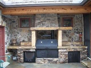 Built in Smoker Outdoor Kitchen S