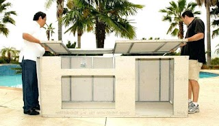 Outdoor Bbq Kitchen Kits Cabinets S S