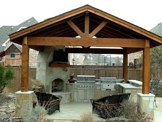 Free Standing Outdoor Kitchens Kitchen Patios Rustic