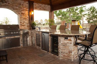 U Shaped Outdoor Kitchen Designs 37 Otdoor Ideas Pictre Gallery Designing Idea