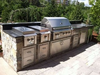 Modular Bbq Outdoor Kitchen S Cabinets Entertaining