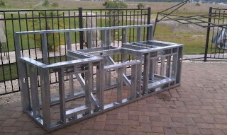 Frame for Outdoor Kitchen Metal Framing Grill Find