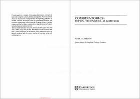 0521451337, 0521457610 {16862F19} Combinatorics_ Topics, Techniques, Algorithms [Cameron 1995-01-27].pdf