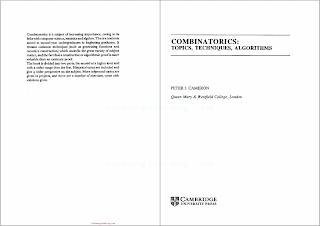 0521451337, 0521457610 {16862F19} Combinatorics_ Topics, Techniques, Algorithms [Cameron 1995-01-27].pdf