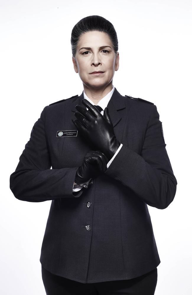 Wentworth star Pamela Rabe who plays Governor Joan Ferguson, aka The Freak. Credit: Foxtel, Foxtel/Ben King