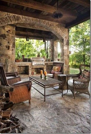 Awesome Outdoor Kitchens 25 Incredible Kitchen Ideas Live Kitchen Design