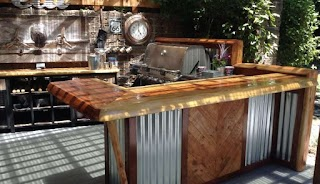 Rustic Outdoor Kitchen Ideas Splendid Images Packages Kits Pictures