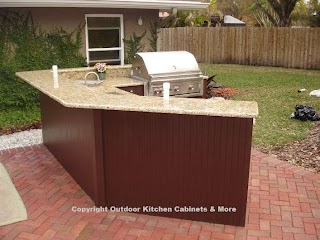 Outdoor Kitchen Cabinets and More Quality