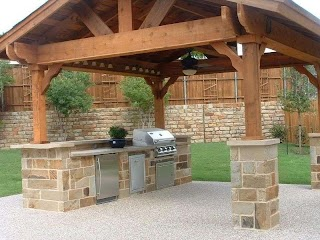 Inexpensive Outdoor Kitchen Ideas Inspiring Photo Above Is Part