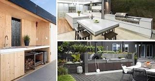 Modern Outdoor Kitchen Ideas 7 Design for Awesome Backyard Entertaining
