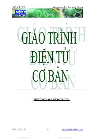 Giáo Trình Điện Tử Cơ Bản - Nhiều Tác Giả, 74 Trang.pdf