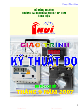 ĐHCN.Giáo Trình Kỹ Thuật Đo - Dương Hữu Phước, 122 Trang.pdf