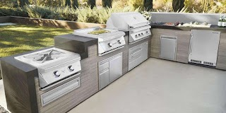 Appliances for Outdoor Kitchen Planning Your New with Delta Heat Twin Eagle