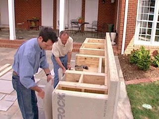 How to Frame an Outdoor Kitchen Construction Masonry Wood Kits Prefab