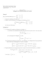 Td Intégrale & Transformation de Fourier Analyse 4 Enp.pdf