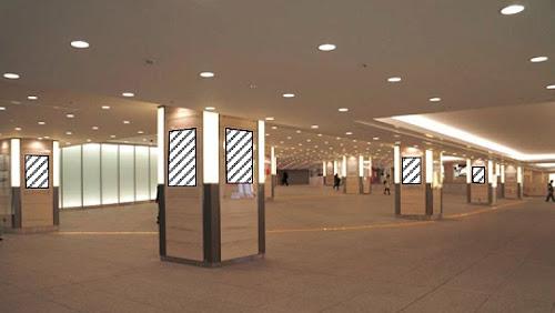 JPタワー前地下広場