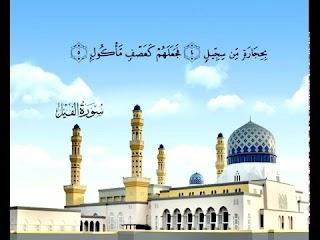 Sura  Al-Feel <br>(The Elephant) - Sheikh / Mohammad Ayyoob -