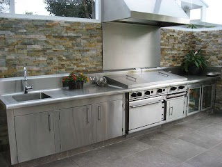 Stainless Steel Outdoor Bbq Kitchen Domestic S