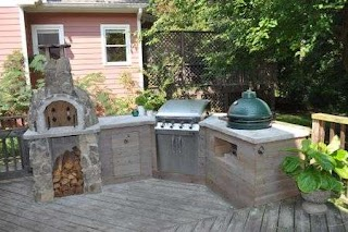 Outdoor Kitchens Ideas Spectacular DIY Kitchen