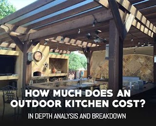 Cost of Outdoor Kitchen What Does an Really Mancavecom