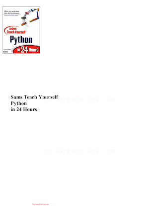 Teach Yourself Python in 24 Hours.pdf