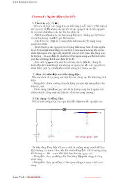 Giáo Trình Điện Tử Cơ Bản - Xuân Vinh, 190 Trang.pdf