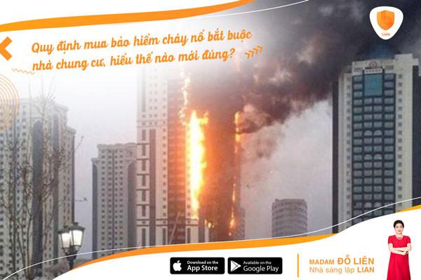 Hiểu đúng về quy định mua bảo hiểm cháy nổ bắt buộc nhà chung cư