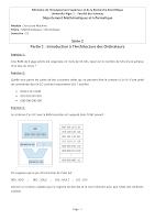 série td introduction au strm et Circuits Séquentiels et Les Bascules MI Alger 1.pdf
