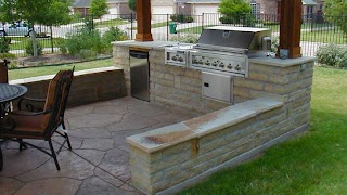 How to Build a Stone Outdoor Kitchen Sne Ptio for N with Ptio Contrcrs