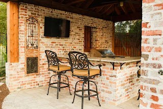 Outdoor Kitchens New Orleans Frisco Tx Style Kitchen Cabana Rustic