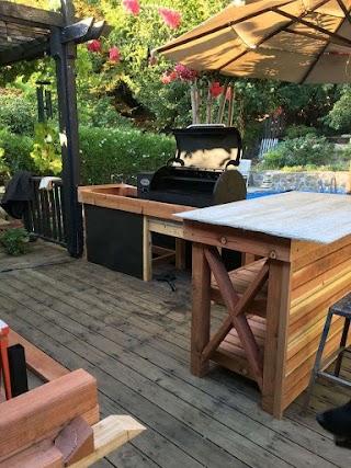 Outdoor Kitchen Smoker DIY in 2019