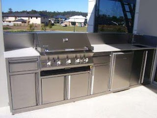 Stainless Steel Outdoor Bbq Kitchen Custom 100 S Brisbane Units